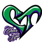 Cheer Tyme anniversary logo - white outline - no starburst