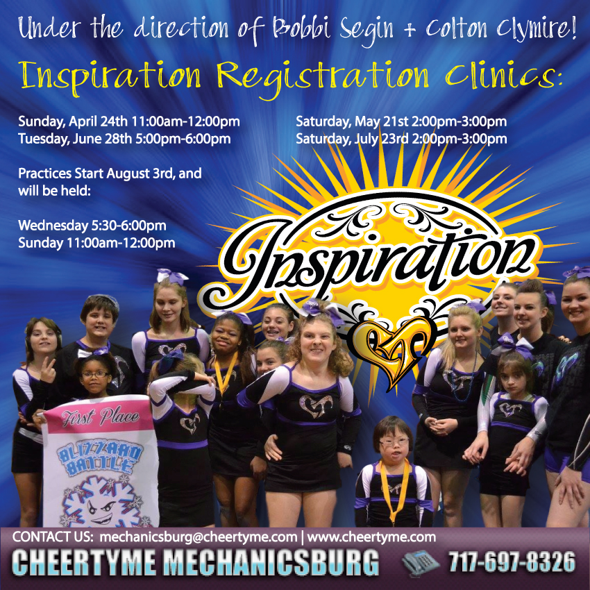 CT Inspiration-Summer Tryouts 2016